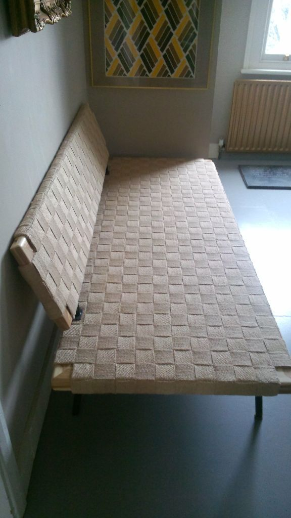 Sinnerlig Day Bed Gorgeous Acacia Wood Woven Bench