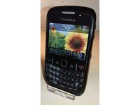 Blackberry Curve 8520 - Unlocked(Except Three/3) - Good Condition + Charger