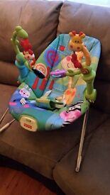 Fisher price bouncer good condition