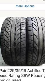 Tyres 225/35/19