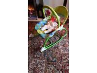 BABY AND TODDLERS ROCKER CHAIR HAMMOCK.