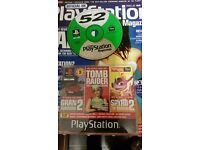 playstation magazine with demo disc