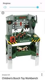 Kids Bosch workbench