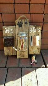 Key Entrance Wall Plaque - His & Hers