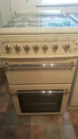 Flavel Victoriana 50 gas hob, double oven
