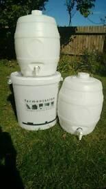 Pressure barrels
