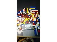 Collectable Lego plastic building blocks from early mid 60s