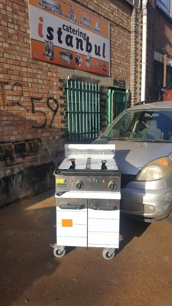 RESTAURANT HOTEL PUB CAFE Lincat Opus 700 Double Electric Filtration Fryer OE7113F
