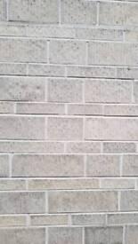 Tooled Bradstone blocks 15 sq m