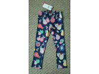 Girls M&S jeggings, new with tgas 4-5 yrs