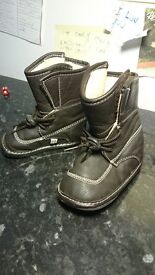 Jack & Lily toddler boots unisex brand new