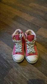 Next girls ankle trainers size UK 10