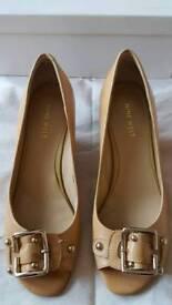 Nine West US size 7 (UK 5) wedge shoe