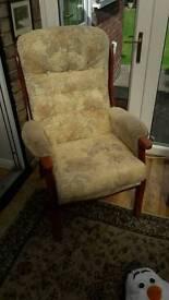 2 Mahogany Chairs