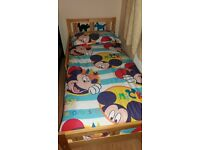 Ikea children bed and mattress - excellent condition!