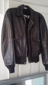 Vintage Schott flight jacket