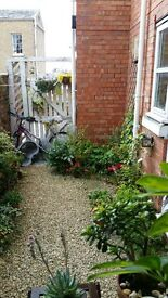 NO FEES - 1bed, character, town centre with courtyard garden & parking