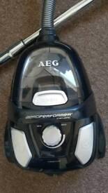 AEG Vacuum Cleaner - Like New - Light - Space Saving