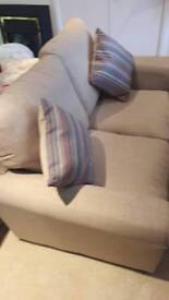 2 seater sofas x 2 for sale