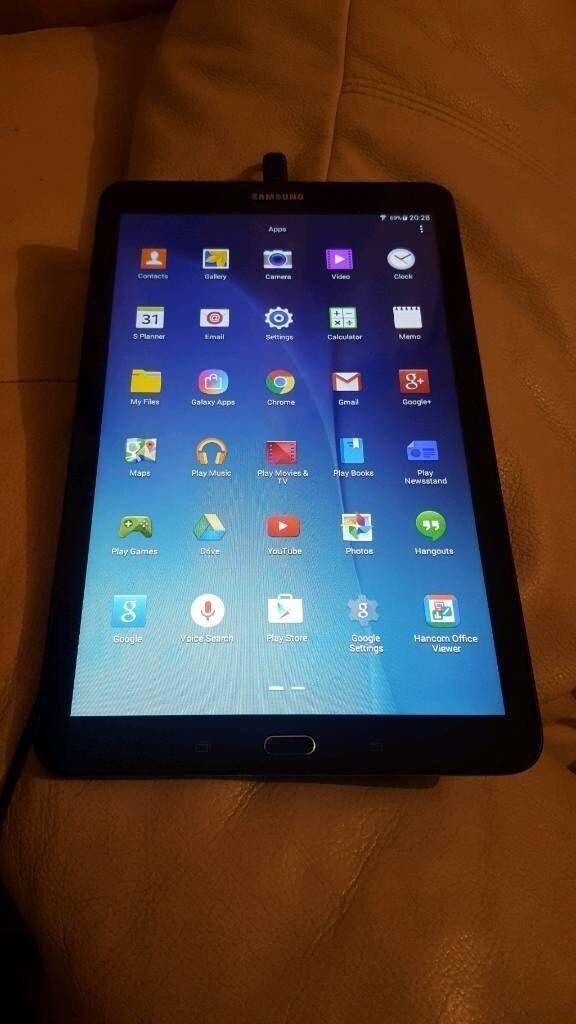 Samsung galaxy tab E 9.6 inch like new