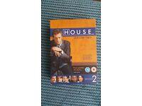 HOUSE SEASON 2, BOXED, 6 DVD / ITALIAN JOB BOXED COLLECTION