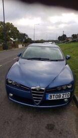 Alfa Romeo 159 Sportwagon2.2 JTS Lusso 51,000 miles