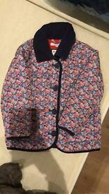 Girls quilted coat 3-4 years