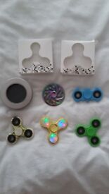Bundle of fidget spinners x 5 in great condition