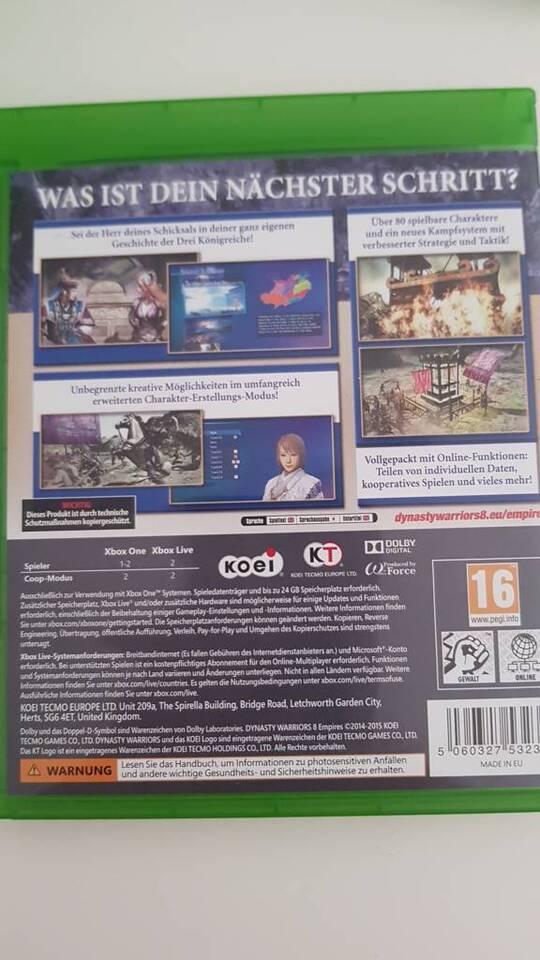 Xbox One - Dynasty Warriors 8 Empires in Brandenburg - Bernau