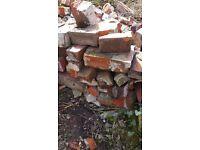 Free bricks and wood