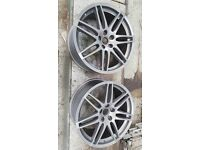 Genuine Audi TT A4 A3 A5 A6 19inch S-line wheels