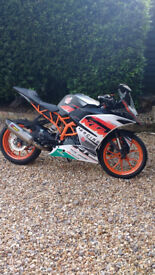 KTM RC390 WITH POWER PARTS