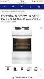 Currys essential 50cm electric cooker