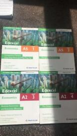 Edexcel Economics A level Unit books