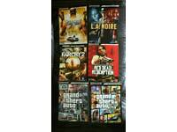 PlayStation strategy guides- Grand Theft Auto, Red Dead Redemption, L.A Noir etc
