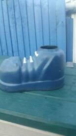 Unique garden boot planter