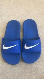 Boys Nike Sliders size 12.5