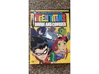 5 Rare Teen Titans dvd