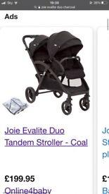 Joie evalite duo stroller