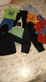 Bundle of Boys Clothes 4-5