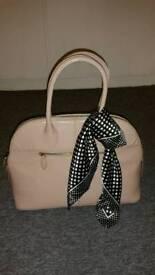 Next nude handbag