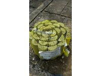 Log roll for garden - 1 whole roll and 1/2 roll
