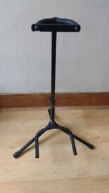 STAGG universal guitar stand black collapsible excellent condition