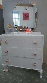 Upcycled bedroom dresser