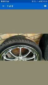 "18"" Fox RS Alloy Wheels"