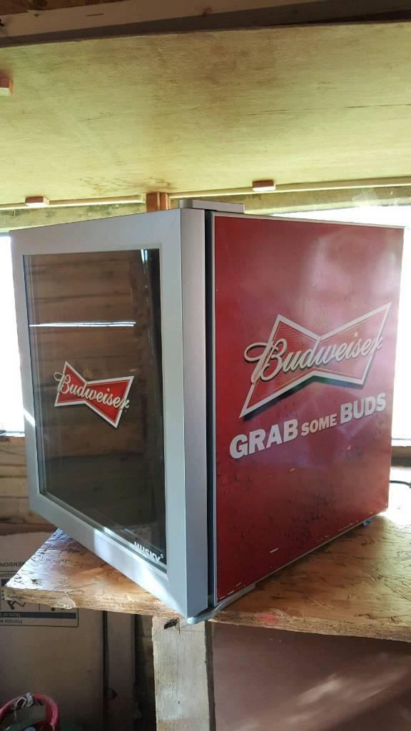 Budweiser Beer Cooler Fridge Husky
