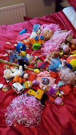 Large bundle of kids toys