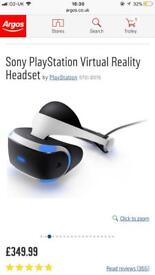 PlayStation 4 VR and games
