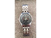 Sekonda Men's World Timer Chronograph Bracelet Watch w/stopwatch