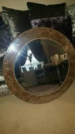 Next crackle effect mirror